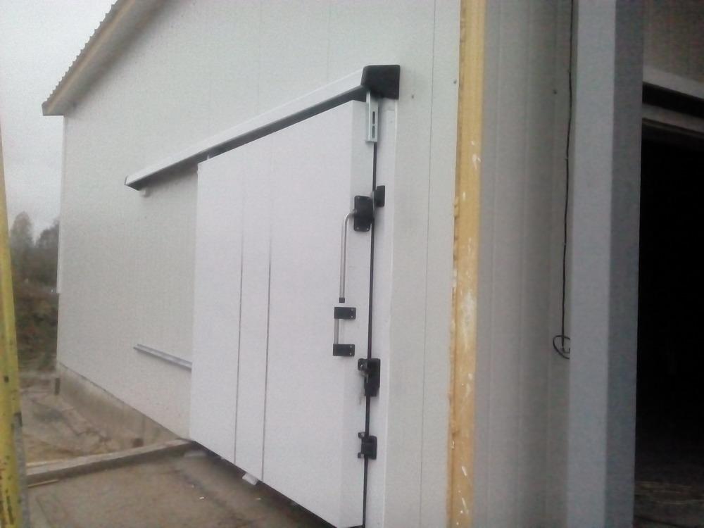 Откатные двери наружные